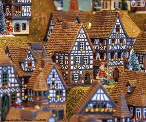 Rompicapo di Villaggio di Natale