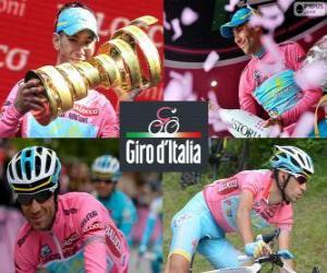 Rompicapo di Vincenzo Nibali, campione del Giro di Italia 2013