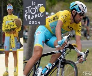 Rompicapo di Vincenzo Nibali, campione del Tour de France 2014