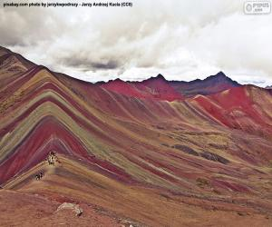 Rompicapo di Vinicunca, Perù