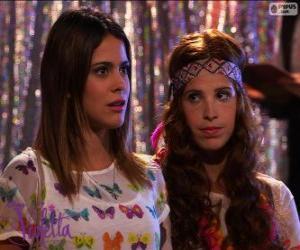 Rompicapo di Violetta e Camila