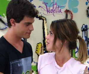 Rompicapo di Violetta e Diego