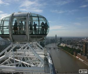 Rompicapo di Vista dal London Eye