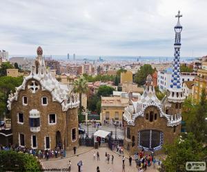 Rompicapo di Vista di Barcellona