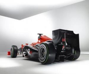 Rompicapo di Vista posteriore, Virgin VR-01