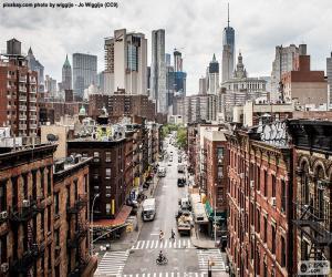 Rompicapo di Vista Street a Manhattan