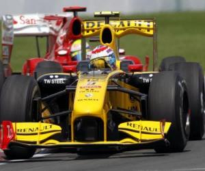 Rompicapo di Vitaly Petrov - Renault - Montreal 2010