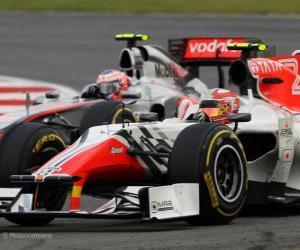 Rompicapo di Vitantonio Liuzzi - HRT - Silverstone 2011