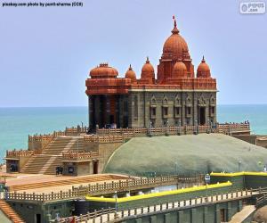 Rompicapo di Vivekananda Rock Memorial, India