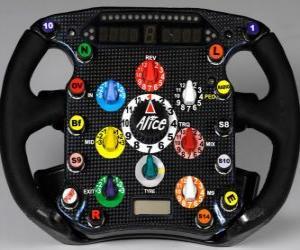 Rompicapo di Volante F1
