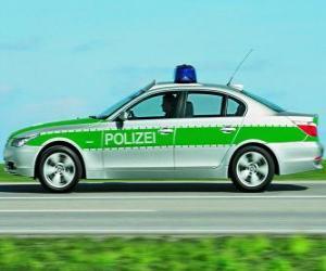 Rompicapo di volante o macchina della polizia - BMW E60 -