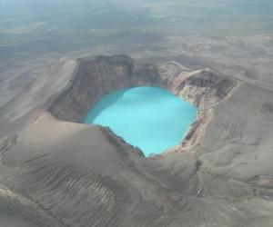Rompicapo di Vulcani della Kamchatka, Russia.