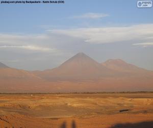 Rompicapo di Vulcani in Atacama, Cile
