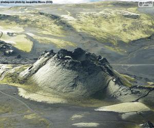 Rompicapo di Vulcano Laki, Islanda