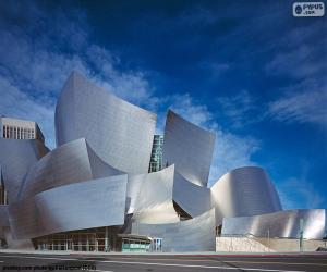 Rompicapo di Walt Disney Concert Hall, USA