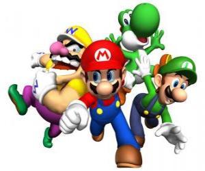 Rompicapo di Wario, Mario, Yoshi e Luigi