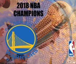 Rompicapo di Warriors campioni di NBA 2018