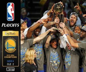 Rompicapo di Warriors, campioni NBA 2015