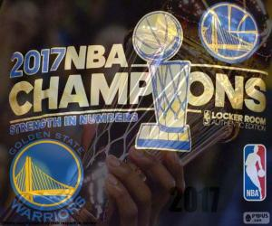 Rompicapo di Warriors, campioni NBA 2017