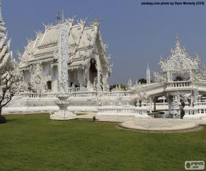 Rompicapo di Wat Rong Khun, Tailandia