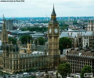 Rompicapo di Westminster, Big Ben, Londra