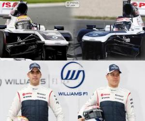 Rompicapo di Williams F1 Team 2013
