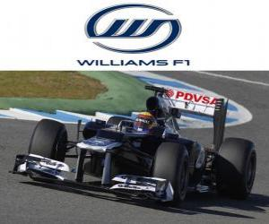 Rompicapo di Williams FW34 - 2012 -