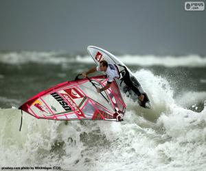Rompicapo di Windsurf wave
