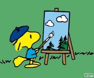 Rompicapo di Woodstock pittore