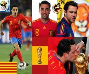 Rompicapo di Xavi Hernandez (Il testimone) Centrocampista da seleção espanhola