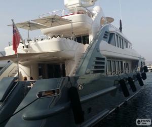 Rompicapo di Yacht di lusso
