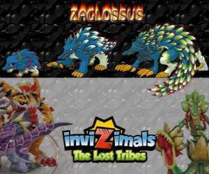 Rompicapo di Zaglossus, ultima evoluzione. Invizimals Le Tribù Scomparse. Invizimal assomiglia a un porcospino