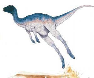 Rompicapo di Zephyrosaurus era un corridoio bipede di solo 1,8 metri di lunghezza, peso 50 kg