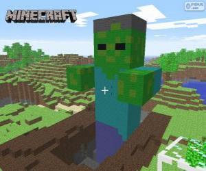 Rompicapo di Zombie di Minecraft