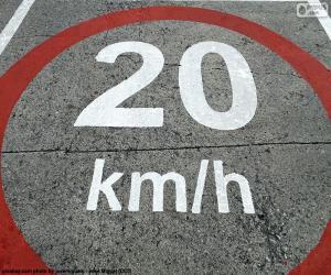 Rompicapo di Zona 20 km/h