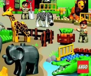Rompicapo di Zoo di LEGO
