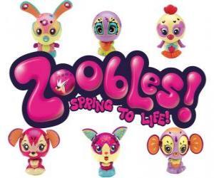 Rompicapo di Zoobles Logo