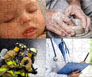 Puzzle di Persone e Mestieri