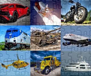 Puzzle di Transporti