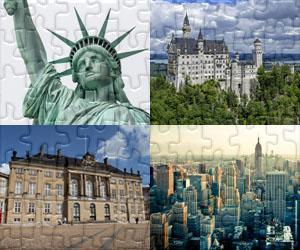 Puzzle di Case, Città e Monumenti