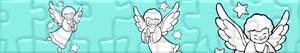 Puzzle di Angeli di Natale