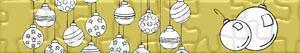 Puzzle di Palline di Natale