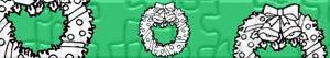 Puzzle di Corone e ghirlande di Natale