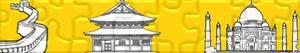 Puzzle di Monumenti e altri luoghi d'interesse turistico in Asia