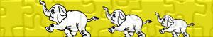 Puzzle di Elefanti