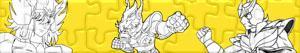 Puzzle di Saint Seiya - I Cavalieri dello zodiaco