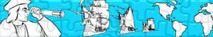 Puzzle di Cristoforo Colombo - Scoperta dell'America