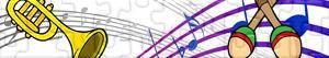 Puzzle di Strumenti musicali