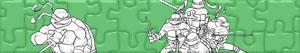 Puzzle di Tartarughe Ninja