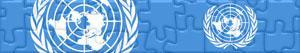 Puzzle di Bandiere e Loghi delle Nazioni Unite - ONU